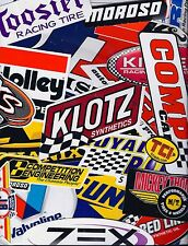 Assortment Set Lot of 25+ Racing Decals Stickers NHRA US FREE SHIPPING RANDOM