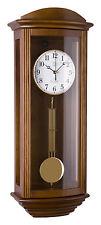 Klassische Wanduhr Pendel Funk Uhr Eiche Westminster Regulateur Funkuhr