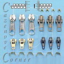 Zipper Tab Replacement Tab repair kits fix puller, mend Jacket coat trouser zip