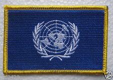 U.N. Flag Patch Embroidery