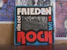 ROCK FUR DEN FRIEDEN '84 LIVE - GERMAN LP 8 56 038