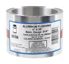 "Amerimax 68104 Roll Valley Flashing 4"" x 50', Aluminum"