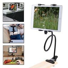 Gooseneck 360 Lazy Bed Desk Stand Holder Mount-iPad 2 3 4 Air Mini Tablet Black