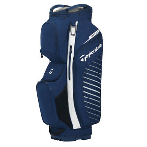 TaylorMade Cart Lite Bag Navy/Flag/White Free Shipping