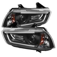 Spyder 5074201(PRO-YD-DCH11-LTDRL-HID-BK) Projector HeadLights For Charger 11-14