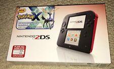 POKEMON X 2DS SYSTEM BUNDLE - Nintendo 2 DS Blue&Black *NEW/FACTORY SEALED* USA
