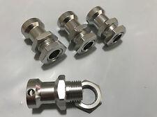HD OFNA 17mm Hex / Hub Adapter Wheel Extensions Silver