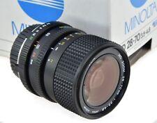 MINOLTA MD 28-70mm 3.5-4.8 - Boxed - === Nuovo di zecca ===