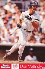 LOT OF 2 POSTERS: MLB BASEBALL: DON MATTINGLY - NY YANKEES    #7579     RC16 C