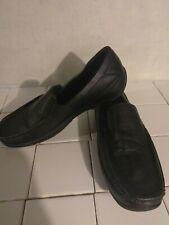Dexter Comfort Mens Slip On Shoes Sz 9 9.5 Black Loafers slip on Memory Foam