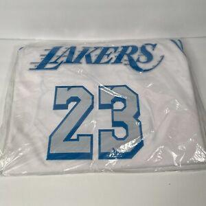 Nike LA Los Angeles Lakers Lebron James City Authentic Jersey sz 44 48 52 56 NEW
