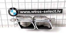 NEW GENUINE BMW F01 F02 F03 760 EXHAUST TIP PIPE M SPORT PIPES / OEM 51127195361