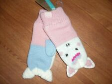 BNWT GIRLS JOULES UNICORN MITTENS GLOVES AGE 4-7 OR 8-12 Y.GREAT STOCKING FILLER