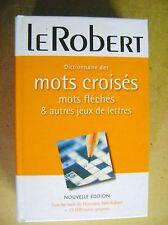 Dictionnaire des mots croisés mots fléchés et autres jeux de lettres /Z56