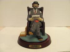 Extremely Rare Emmett Kelly Jr Flambro Figurine Lawyer <22>