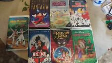 Old collectable Disney vhs movies.In great condition.