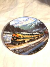 """The Empire Builder"" Plate ~ The Golden Age Of American Railroads ~ Le #0226A"