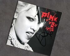 P!NK.. Try This (Pink) SIGNED CD