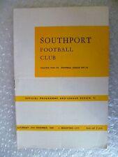 More details for 1970 southport v bradford city, 27th dec (league division 3)
