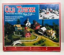 Old Towne Miniature Village Kit by Dura-craft HO Scale #0T950 New Factory Sealed