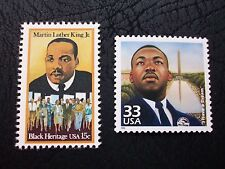 Martin Luther King Stamps #1771 & 3138a