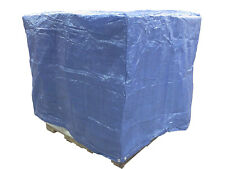 4 Ft. X 5 Ft. X 4 Ft. Blue Poly Waterproof Pallet Box Cover - 6 Mil