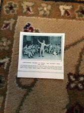 75-6 ephemera 1917 picture ww1 blighty boys euston wounded british entertain