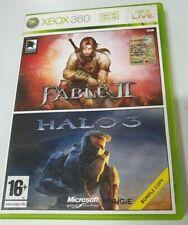 Fable 2 / Halo 3 - Xbox 360