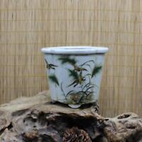 Chinese ancient antique hand make Flower and Bird Patterns flwoerpot