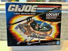 VINTAGE - HASBRO - GI JOE - LOCUST - ASSAULT COPTER - MISB
