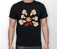 Son dragon-T-Shirt Hommes son Ruffy Luffy Naruto Saitama One Dragon Master Modelage