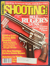 Magazine SHOOTING TIMES, December 1981 !!! MARLIN'S Lever-Action RIFLES !!!