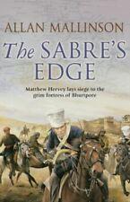The Sabre's Edge: (Matthew Hervey 5), Mallinson, Allan, UsedVeryGood, Paperback