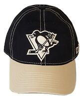 Reebok Pittsburgh Penguins Cap Slouch Flex Fit Hat S/M New With Small Flaw