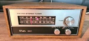 Rare Vintage Wien 661 Stereo AM FM Radio Tuner HiFi Separate.