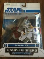 2008 Star Wars Transformers Captain Rex To At-TE