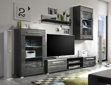 wohnw nde in grau g nstig kaufen ebay. Black Bedroom Furniture Sets. Home Design Ideas
