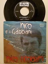 DISCO 45 GIRI NICO E I GABBIANI - NICO RICORDAMI / SERENATA CELESTE - ARISTON EX