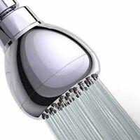 High Pressure Shower Head 3 Inch Anti-leak Fixed Chrome Rainfall Showerhead