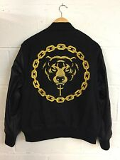 Long x Mishka UNISEX Chain GOLD 2.0 Varsity Jacket. Boy London, HBA, Selfridges