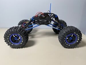 Custom RC crawler BERG chassis exceed axles jeep clod buster tamiya kyosho truck
