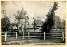 France, Cestas, Chenil du Château de Mr. Brousse  Vintage print. Aquitaine. Giro