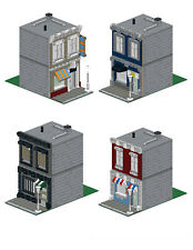 Lego Custom Modular Building -Commercial Facade Pack -INSTRUCTIONS ONLY!