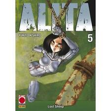ALITA 5 - PLANET MANGA PANINI - NUOVO