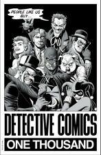 Detective Comics #1000 Forbidden Planet B&W Brian Bolland Variant