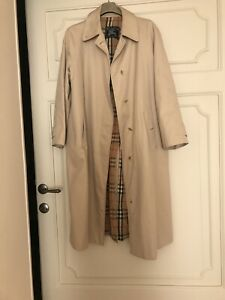 Burberry Trench Impermeabile Vintage