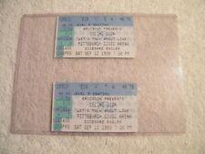 Celine Dion - 2 Concert Ticket Stubs - Pittsburgh Civic Arena Sep 12 1998