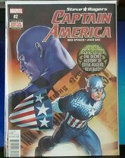 Steve rogers captain America #2 regular cover