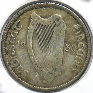 Ireland 1930 Shilling Bull animal 902143 combine shipping