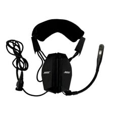 BOSE AH-BG Aviation Pilot Headset Series II W/ Straight Cable & 9-Pin Interface